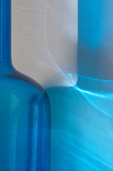 Blue Bottle with Sunlight 076